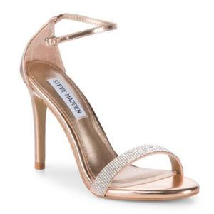STEVE MADDEN Ankle Strap Dress Heels